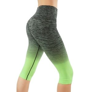 Pants - Yoga Leggings Dry-Fit Pants Workout Ombre